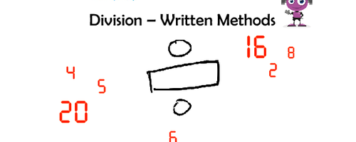 Division - Written Methods